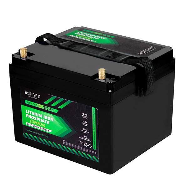 12V 50AH lithium ion battery