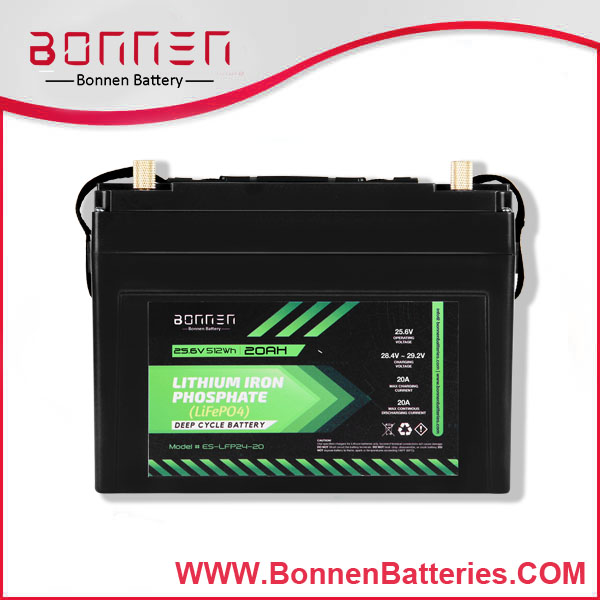 24V 20AH lithium ion battery