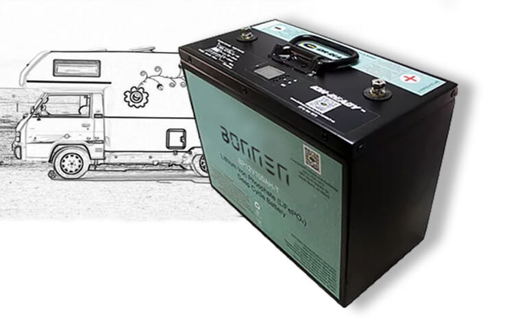 lithium ion rv battery