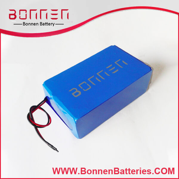 12V 30AH lithium battery pack with PVC