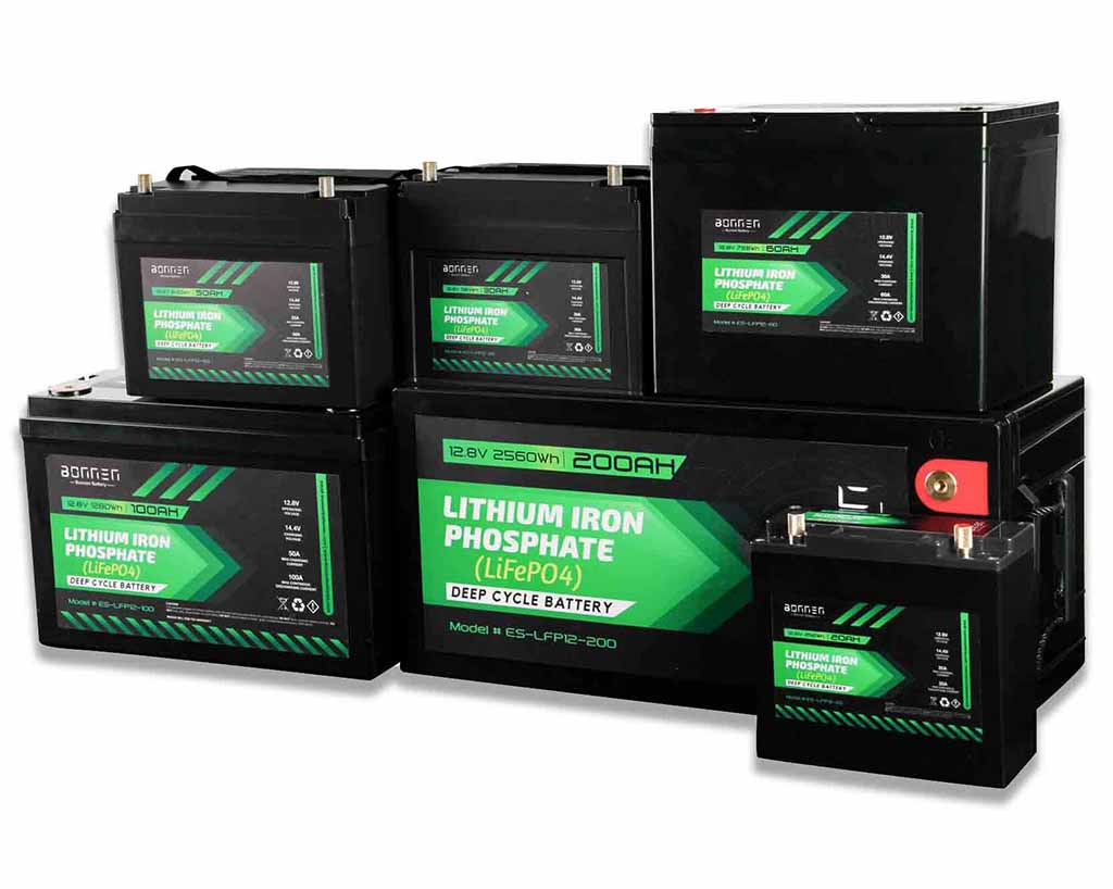 12V lithium ion battery from Bonnen