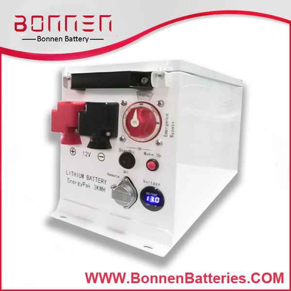 Custom Battery Packs for Marine, Yacht, Boat 3KWH
