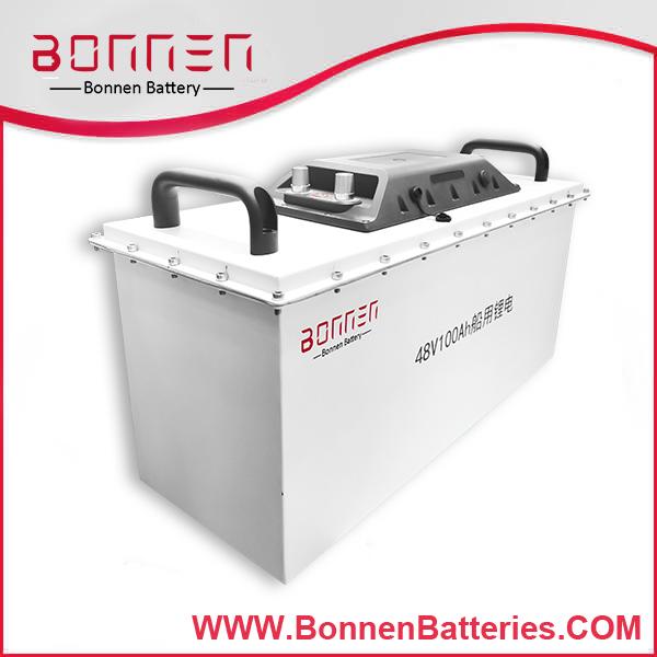marine lithium battery 48V 100AH