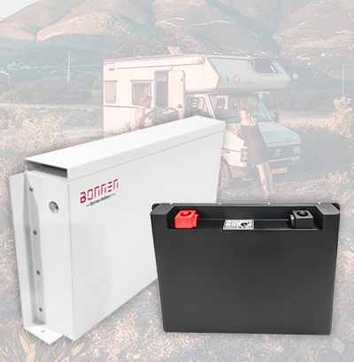 Caravan lithium battery