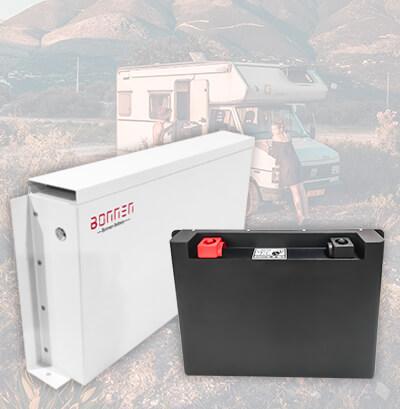 Caravan lithium battery from Bonnen