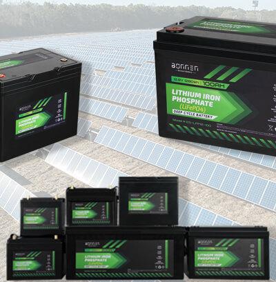 solar lithium battery from Bonnen